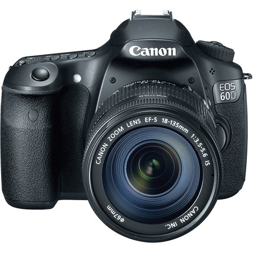 Canon EOS 60D DSLR Digital Camera Kit with Canon EF-S 18-135mm Lens