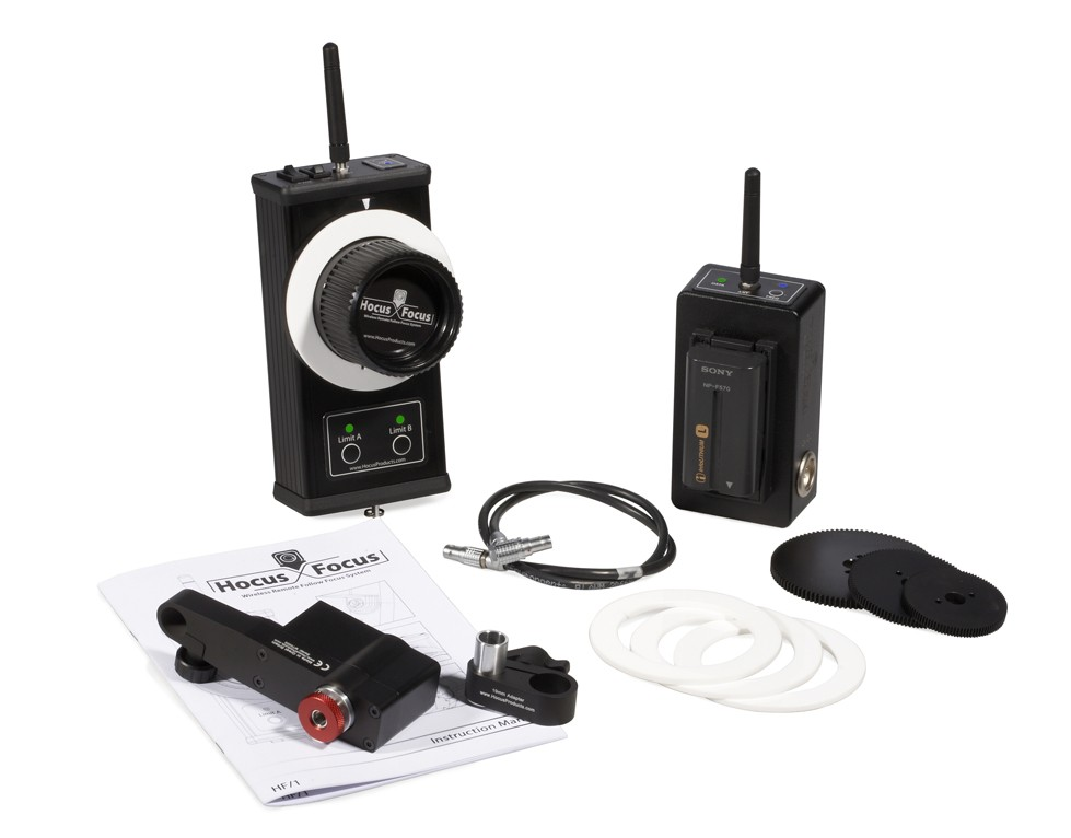 Hocus Focus - Wireless Remote Follow Focus System including Mod gear with Storm case
