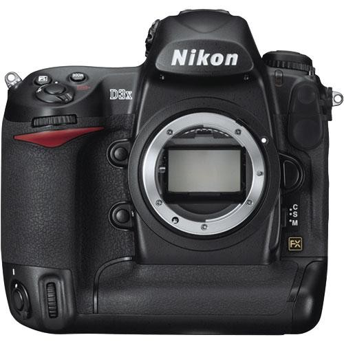 Nikon D3x SLR Digital Camera Body